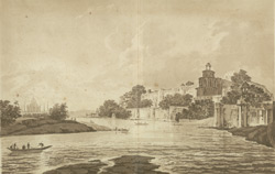 A View of the Fort of Agra, on the River Jumna(019XZZ000000744U00015000)